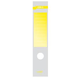 Copridorso CDR S - carta autoadesiva - giallo - 7x34