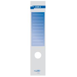 Copridorso CDR S - carta autoadesiva - blu - 7x34