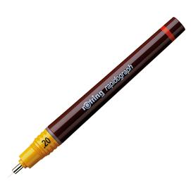Penna a china Rapidograph - punta 0.20mm - Rotring