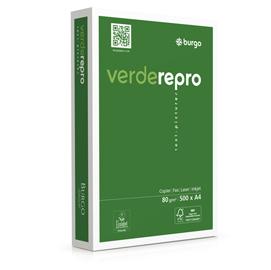 Carta fotocopie Verde Repro 80s - A4 - 80 gr - bianco - Burgo - conf. 500 fogli