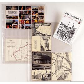 Buste forate Atla FT porta foto e cartoline - 4 spazi 15x21 cm - trasparente - Sei Rota - conf. 10 pezzi