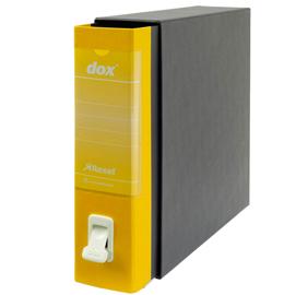 Registratore Dox 2 - dorso 8 cm - protocollo 23x34 cm - giallo - Esselte