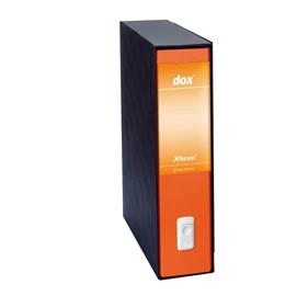 Registratore Dox 2  - dorso 8 cm - protocollo 23x34 cm - arancione - Esselte