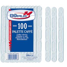 Palette per caffE' - polistirene - Dopla - conf. 100 pezzi