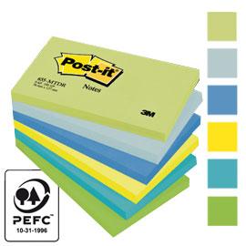 Blocco foglietti Colori Dream - colori assortiti - 76 x 127mm - 72gr - 100 fogli - Post it