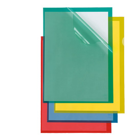 Cartelline a L Poli 150 Color - PPL - buccia - 21x29