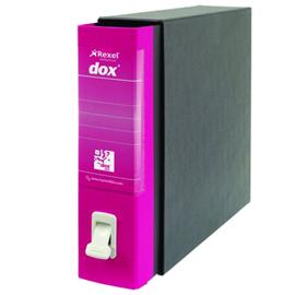 Registratore Dox 2 - dorso 8 cm - protocollo 23x34 cm - fucsia - Esselte