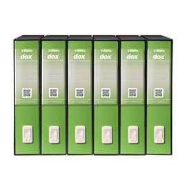 Registratore Dox 2 - dorso 8 cm - protocollo 23x34 cm - greenery - Esselte