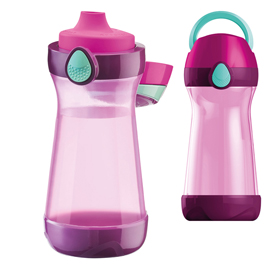 Borraccia Picnick Easy - modello concept - 430ml - viola/fuxia - Maped
