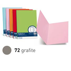 Cartelline semplici Luce - 200 gr - 25 x 34 cm - grafite - Favini - conf. 50 pezzi