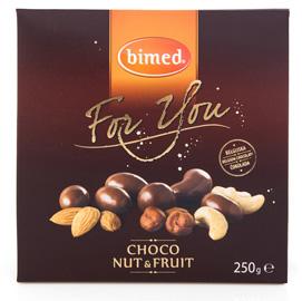 Mix frutta secca ricoperta For You - choco nuts - 250 gr - Bimed