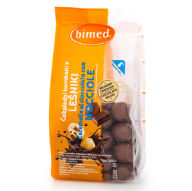 Nocciole ricoperte cioccolato - 200 gr - Bimed
