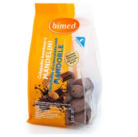 Mandorle al cioccolato - 200 gr - Bimed