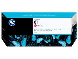 Hp - Cartuccia ink - 81 - Magenta - C4932A - 680ml