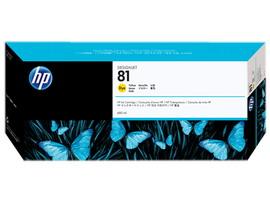 Hp - Cartuccia ink - 81 - Giallo - C4933A - 680ml