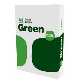 Carta bianca Green laser copier - A4 - 75 gr - conf. 500 fogli