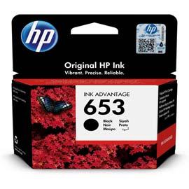 Hp - Cartuccia ink - 653 - nero - 3YM75AE - 360 pag