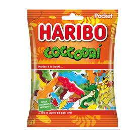 Caramelle gommose CoccodrI' - f.to pocket 100 gr - Haribo