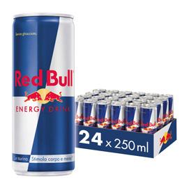 Red Bull Energy Drink - 250 ml - conf. 24 lattine