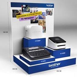 Brother - Bundle Etichettatrici VC500W + PTD210 + PTP300+ESPOSITORE