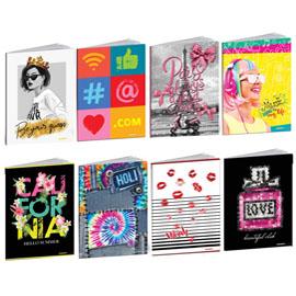 Maxiquaderno Teen Girl 2021 - A4 - 20 fogli - 80 gr - 1 rigo c/margine - Blasetti