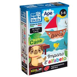 Life Skills cards ''Imparo l'alfabeto'' - KidsLove