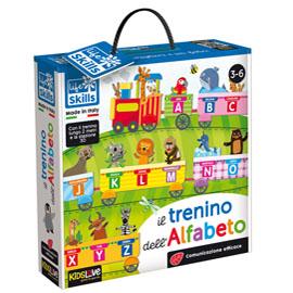 Life Skills cards ''Il trenino dell'alfabeto'' - KidsLove