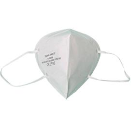 Mascherina FFP2/KN95 - pieghevole - senza valvola - bianco - imb.singolarmente